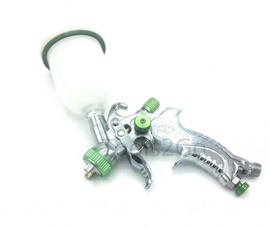 HVLP Cup Spray Mini Gun 120 ml