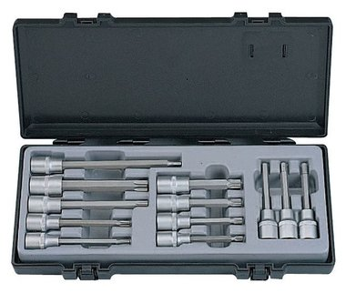 1/2 Socket bit set 12pc