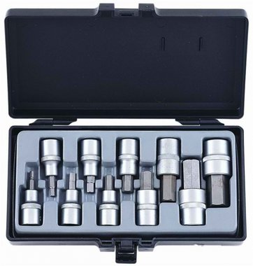 1/2 Hex socket bit set 10pc