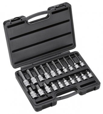 1/2 Hex socket bit set 20pc