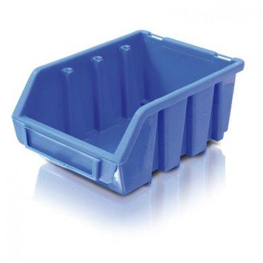 Blue warehouse bin size 3