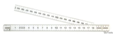 Folding Rule, 10 Segments, Length 2 m