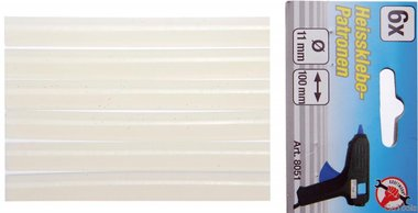 Glue Sticks, 6 pieces, 11x100 mm