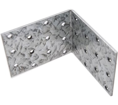 Angle Joint, 80x80x60x2.5 mm, galvanized