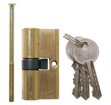 Expert Solid Brass Cylinder Lock, 60 mm long