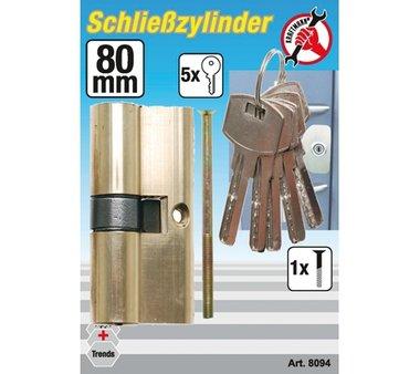 80 mm Brass Cylinder Lock