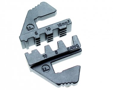 Crimping Jaws for insulated huge cord-end terminals, for BGS 1410/1411/1412