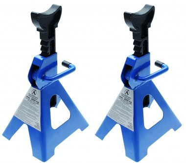 1 Pair of Jack Stands, 3t/pair, 285-420 mm