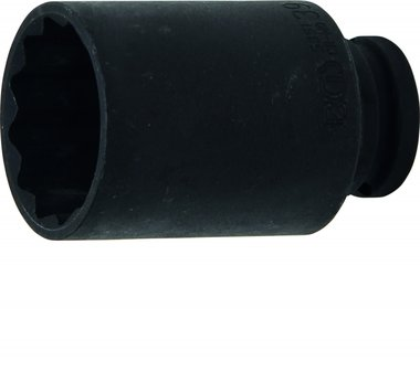 1/2 Impact Socket, 39 mm, 12-pt.