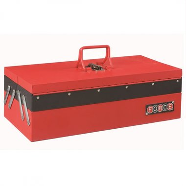 Cantilever Tool Box with 3 trays