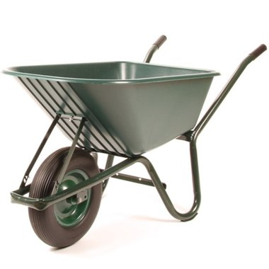 Kruiwagen kunststof anti lek wiel