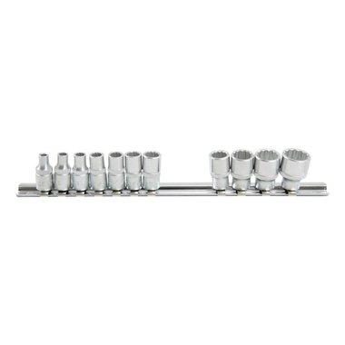 1/4 12-point socket set SAE 11pc