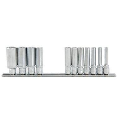 1/4 12-point deep socket set SAE 11pc