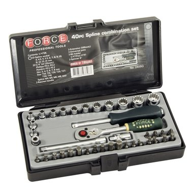 1/4 Spline socket set 40pc