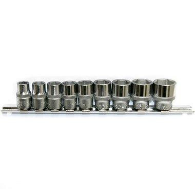 3/8 6-point Socket set SAE 9pc