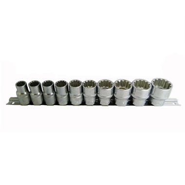 1/2 Spline socket set 10pc