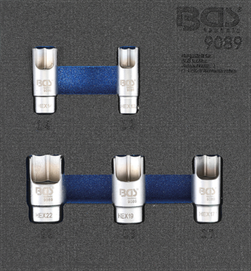 5-Piece Elbow Connector Socket Set