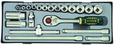 3/8 Socket set SAE 21pc