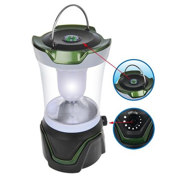 Camping lantern dimmable