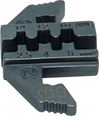 Crimping Jaws for Solar Connector MC4, for BGS 1410/1411/1412
