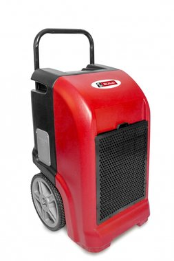 Industrial dehumidifier 70l / day in PE with drain pump.