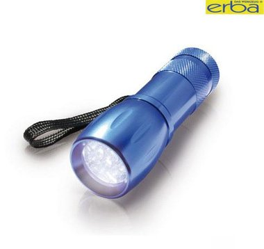 Handy flashlight 9 LED