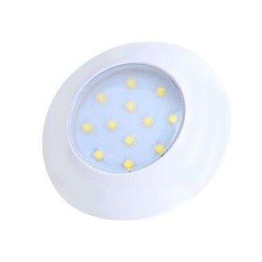 Ceiling light / surface-mounted luminaire 12-leds 12V 240lm Ø75x18mm