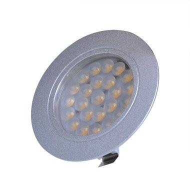 Recessed spotlight 24-leds 12V 220lm Ø65x11mm