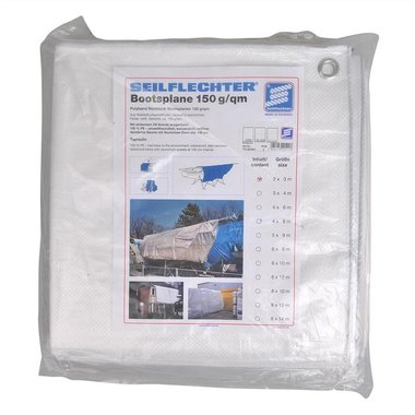 Protection cover 2x3m, white