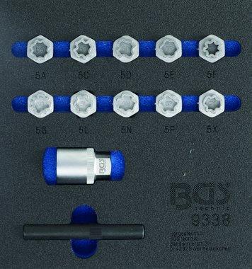 12-piece Rim Lock Socket Set for Mercedes Benz