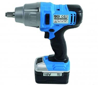 Cordless Impact Wrench 520 Nm max. 2.000 rpm 18 V
