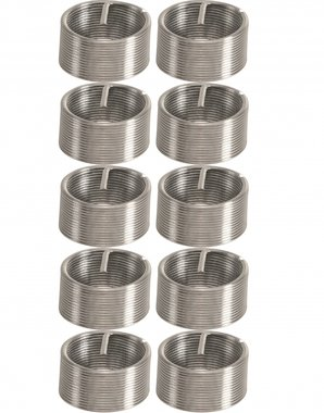 10-piece Thread Repair Inserts M12 x 1.0