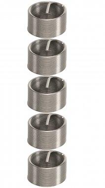 5-piece Thread Repair Inserts M18 x 1.5