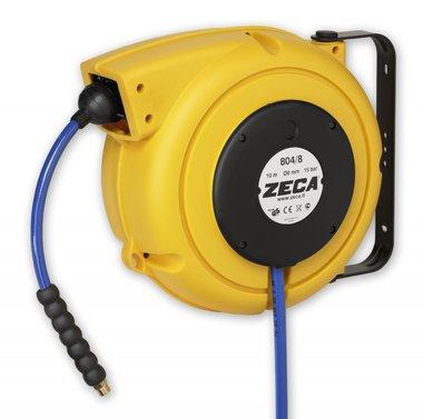 Air hose reel 7+1.5m - 10mm with kpu hose