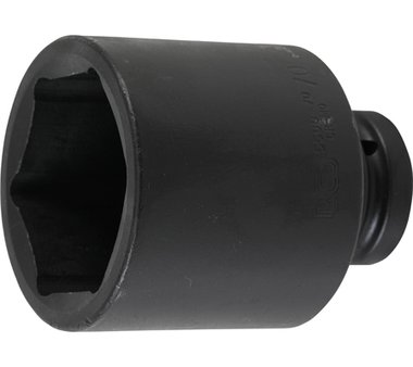 Impact socket, hexagon, deep | 25 mm (1
