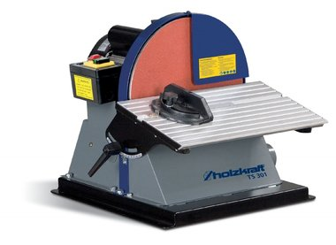 Disc abrasive machine