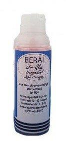 Beral Uni-Glue locking agent red high strength 15ml