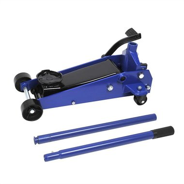 Trolley jack 3 ton with quick lift foot pedal