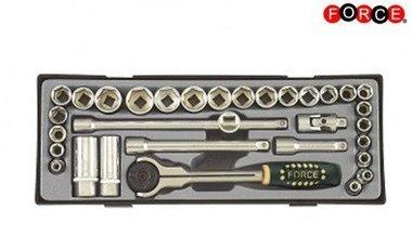 3/8 Socket set 32 pieces (Metric & SAE)