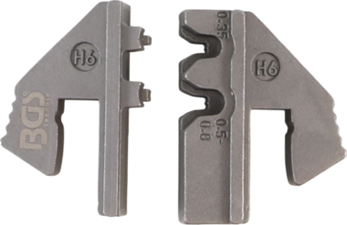 Crimping Jaws for Waterproof Terminal Parts (H6) | for BGS 1410, 1411, 1412