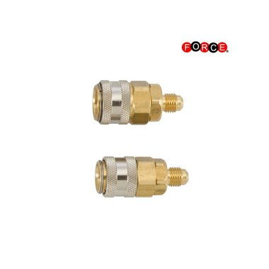 Quick coupler set R-134a