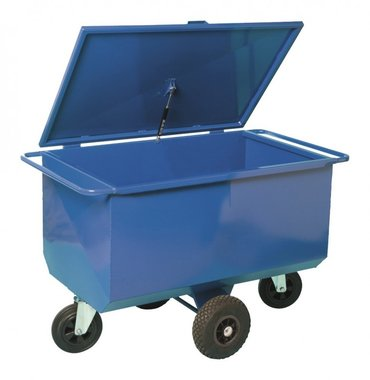 Feed cart 60 cm lid 275 Liter