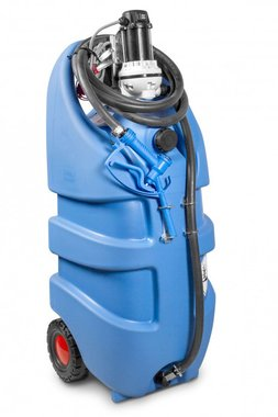Adblue tank 110 l, pump 12 v, hose + manual gun