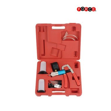 Vacuum testing / brake bleeding kit