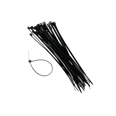 Cable ties 4,8x200mm x 100 pieces