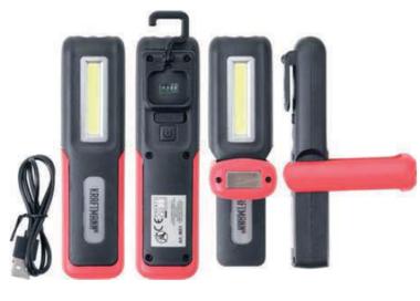 COB-LED Work Handheld Lamp