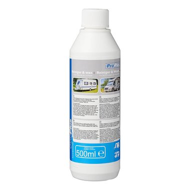Cleaner & Wax 500ml for caravan and motorhome