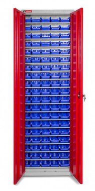Cabinet with storage bins boxes 95 x BOT20