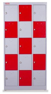 Metal cabinet 3 columns 15 shelves