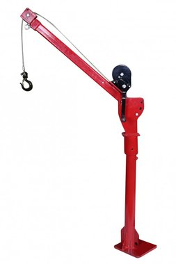 300 kg mobile crane with winch